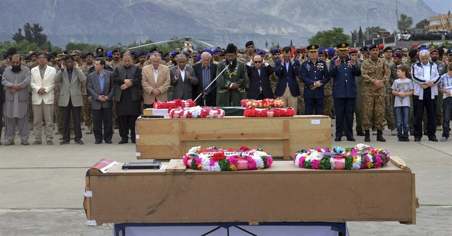 Video: Taliban downed Pakistan helicopter carrying diplomats