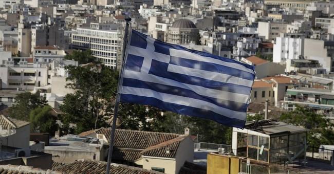 Greece back as a headache for improving eurozone economy