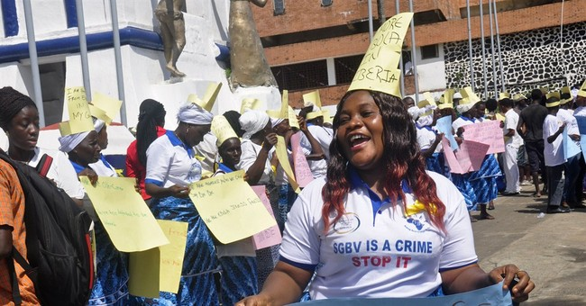Liberia's government holds celebration to mark Ebola's end