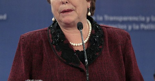 Chile's Bachelet names new Cabinet amid popularity crisis