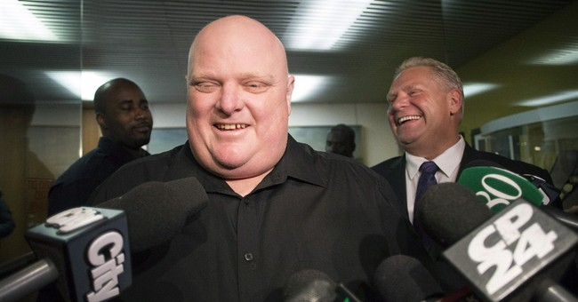 Former Toronto Mayor Ford undergoes surgery to remove tumor