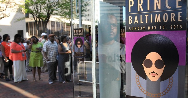 Prince debuts song about Baltimore at 'Rally 4 Peace'