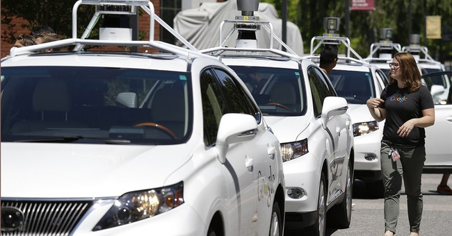 Self-driving cars can't avoid accidents on California roads