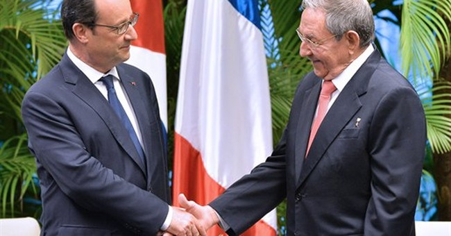 French president calls for end to US embargo on Cuba