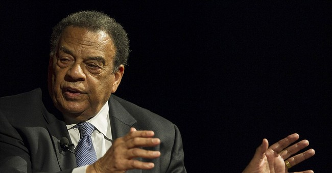Police: Andrew Young in car hit by cement truck in Atlanta