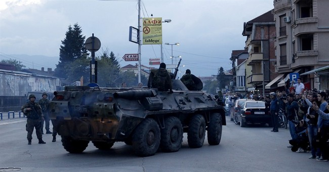 Macedonia charges 30 over weekend battle with militants