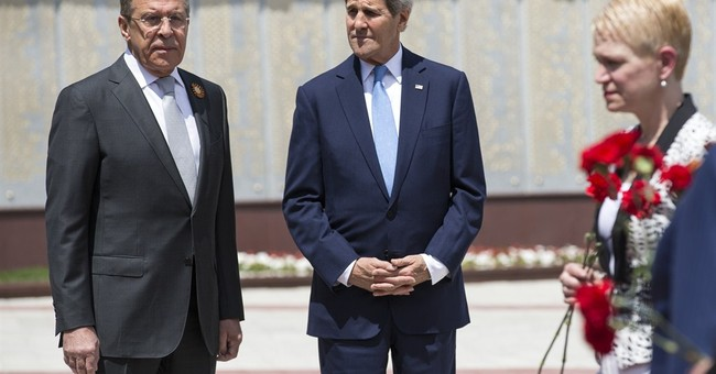 No breakthrough as Kerry meets Russia's Putin