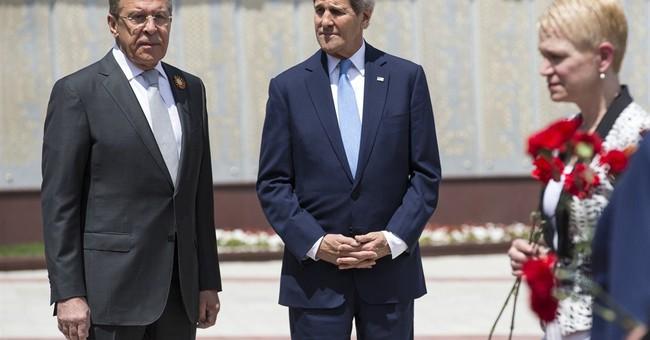 No breakthrough as Kerry meets Russia's Putin