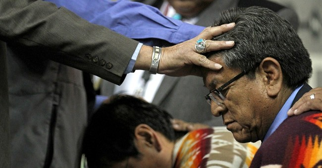 Navajo president pledges to walk road to true sovereignty
