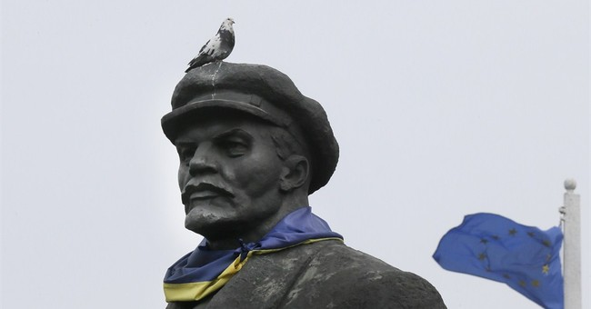 Ukraine erases communist reminders as it tries to ditch past