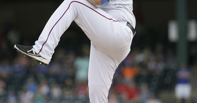 Fixed-up Colby Lewis pitching just fine for Texas Rangers