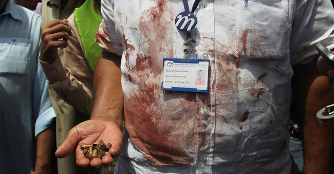 Gunmen kill 45 Shiite Muslims riding on a bus in Pakistan