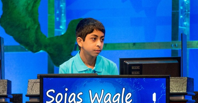 14-year-old wins geography bee after successful challenge