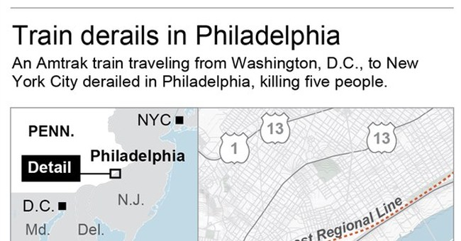 Death toll in Amtrak wreck hits 8; all aboard accounted for