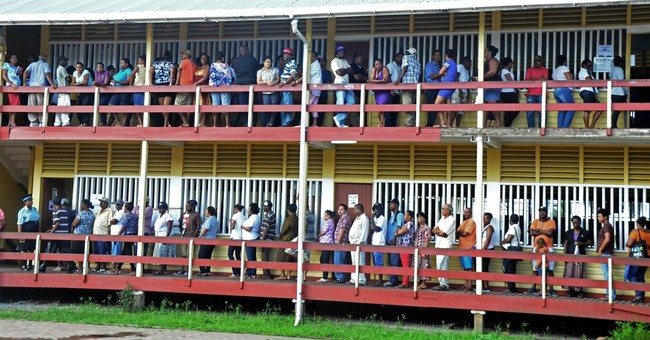 Guyana ruling party asks for partial election recount