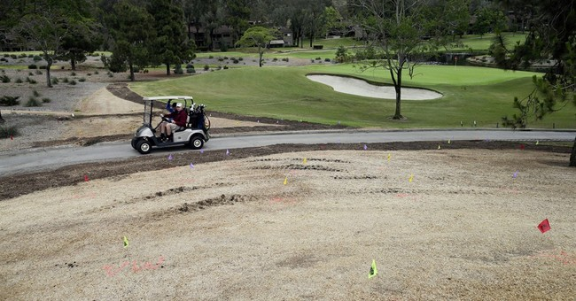 A look at how California golf courses are saving water