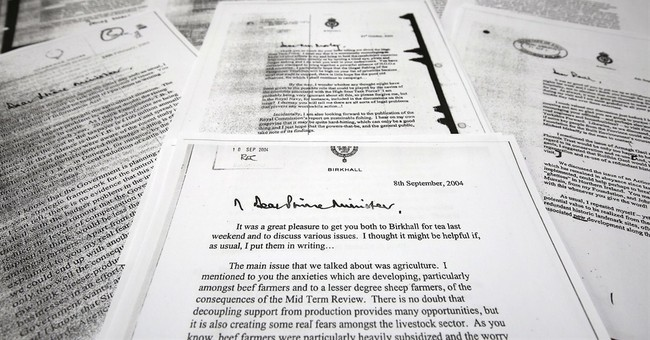 Badgers, beef, fish: Letters show Prince Charles' passions