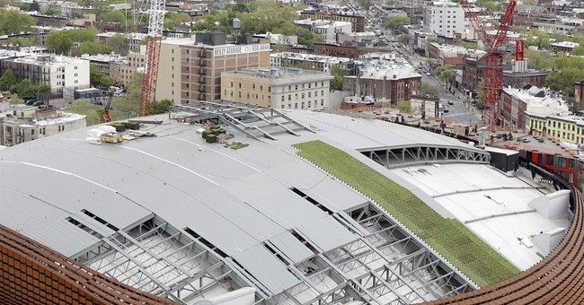 A roof grows in Brooklyn: Barclays Center to get grassy lid