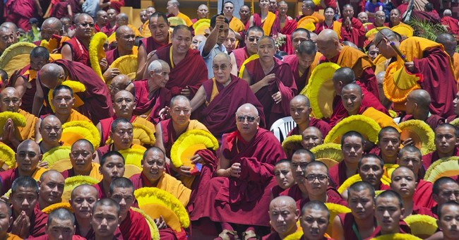 Image of Asia: Tibetan Buddhist monks meet in Dharmsala
