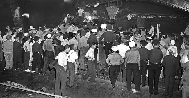 1943 derailment that killed 79 occurred near Amtrak crash