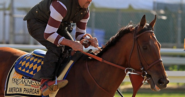 Preakness starters' names evolve from an involved process