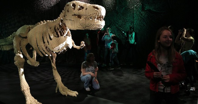 Giant Lego sculpture exhibit opens in Paris