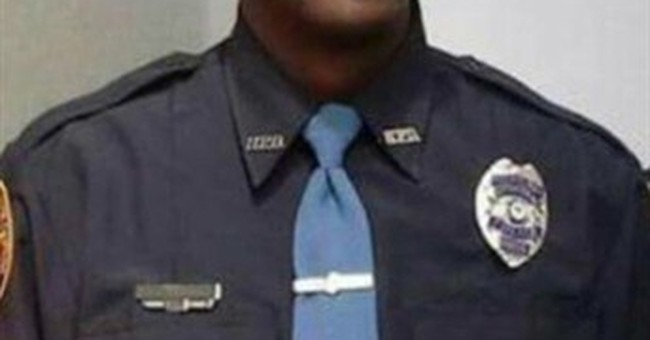 Colleagues from around US attend funeral for slain officer
