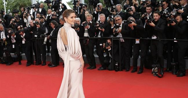 Cannes Watch: Cheryl Fernandez-Versini is pretty in pink