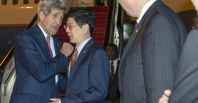 Kerry to press Beijing to halt projects in South China Sea