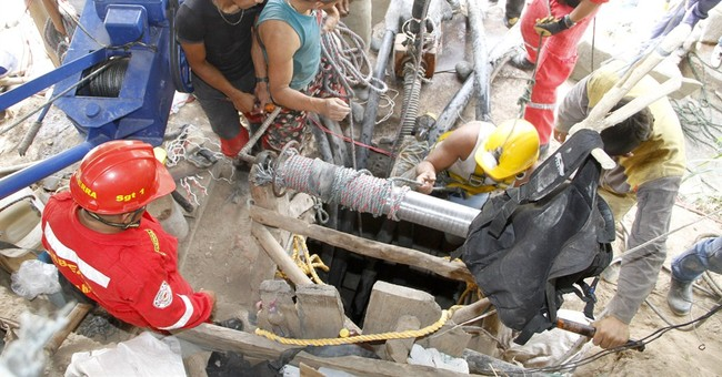 6 bodies recovered from flooded gold mine in Colombia