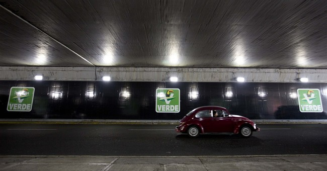 Mexico's odd Green Party reaping success _ and criticism