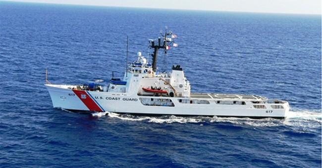 Dozens of Cubans stranded at sea aboard Coast Guard vessel