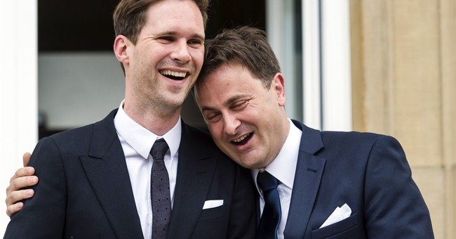 Gay leader of Catholic Luxembourg marries partner