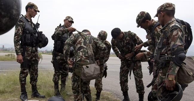 Marines from Kansas, Arizona were on Nepal helicopter