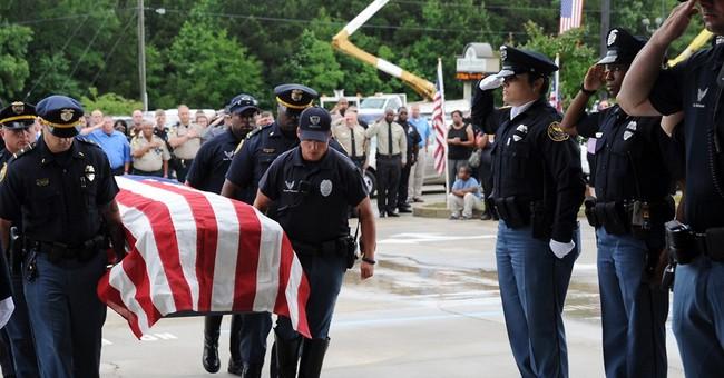 Thousands attend funeral for 2nd slain Hattiesburg officer