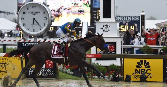 American Pharoah romps in Preakness; Triple Crown try next