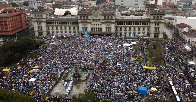 Guatemalans jam streets to voice anger over corruption