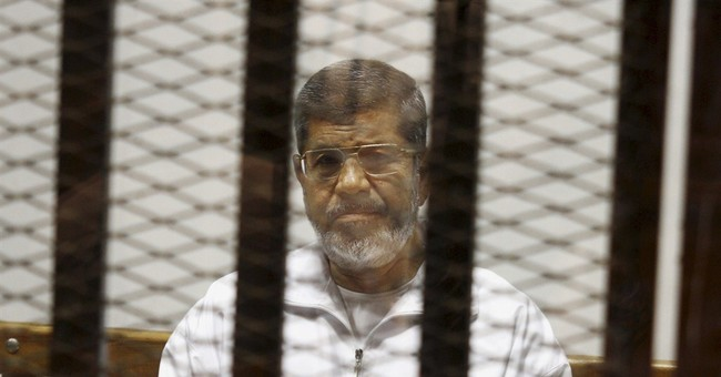 Ousted Egyptian President Mohammed Morsi sentenced to death