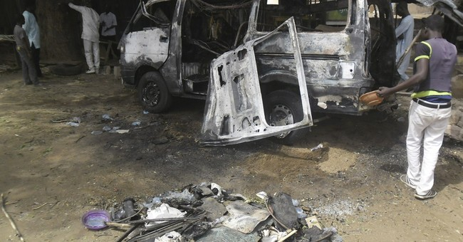 Suicide bomber explodes at Nigerian bus station, kills 8
