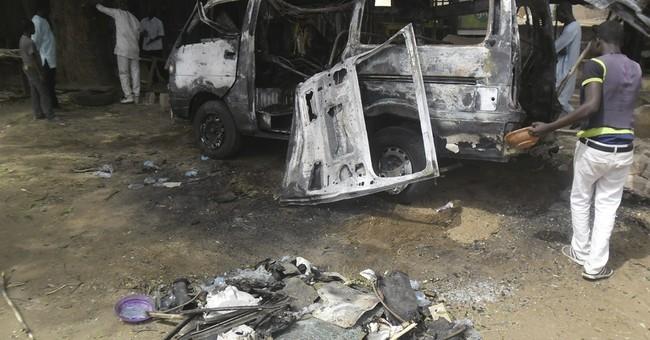 Suicide bomber explodes at Nigerian bus station, kills 8