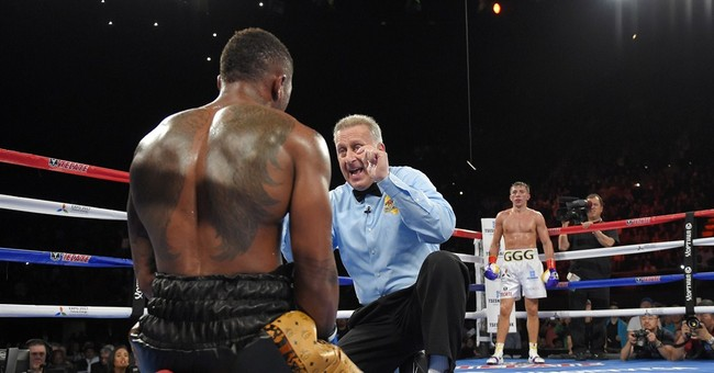 Middleweight champion Gennady Golovkin stops Monroe in 6th