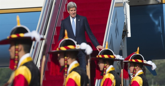 Kerry slams North Korea, vows security for South