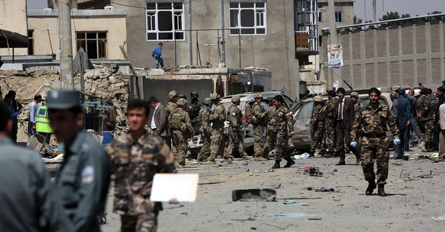 Suicide car bomb by Kabul airport kills 3, including Briton