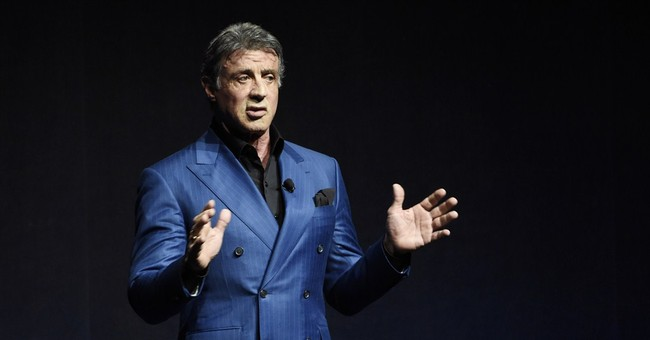 CANNES WATCH: Sylvester Stallone, the artiste, has a show