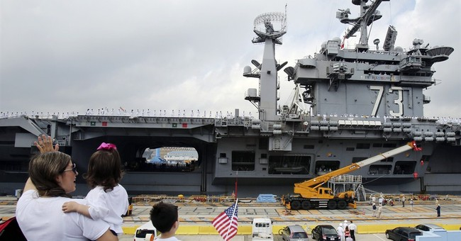 US Navy's Japan-based aircraft carrier heads home