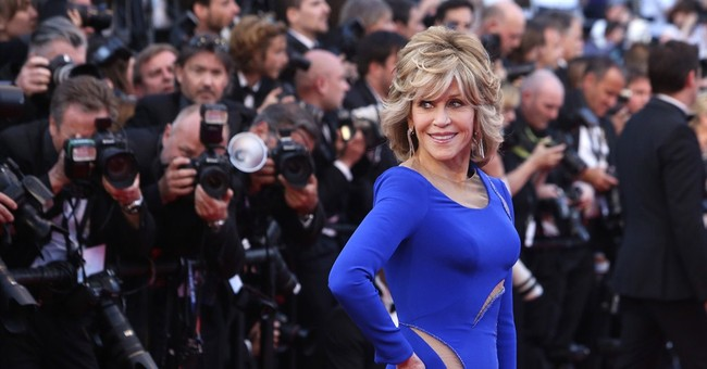 CANNES WATCH: Jane Fonda says gender pay gap 'unacceptable'