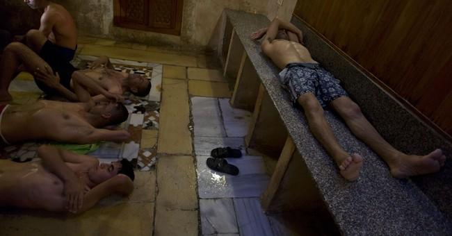 Historic bathhouse offers respite from Gaza's hardships