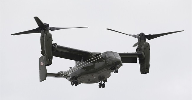 US Marines say unique Osprey aircraft has good safety record