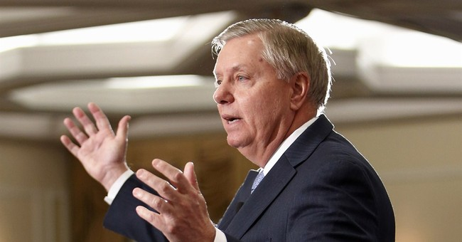 Graham: 'I'm running' to be 'best commander in chief'