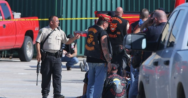 The Latest on Waco shooting: Warning on biker gang violence